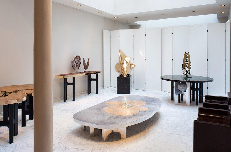 Design Galerie Yves Gastou Saint-Germain des prés Paris
