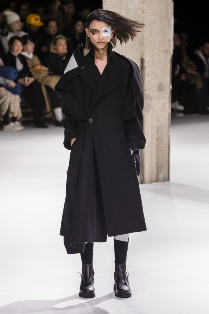 YAMAMOTO,  Collection Automne Hiver 2018 2019, fashion, Paris