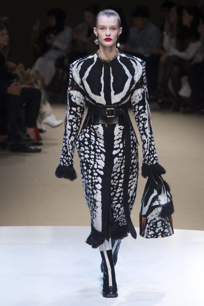Alexander McQueen, Collection Automne Hiver 2018 2019, fashion, Paris