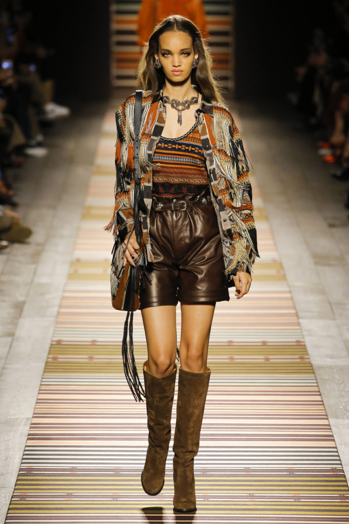 Etro, Mode, Fashion, Paris, Collection Automne Hiver 2018