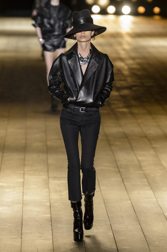 Yves Saint-Laurent, Fashion, Paris, Fall Winter 2018 2019