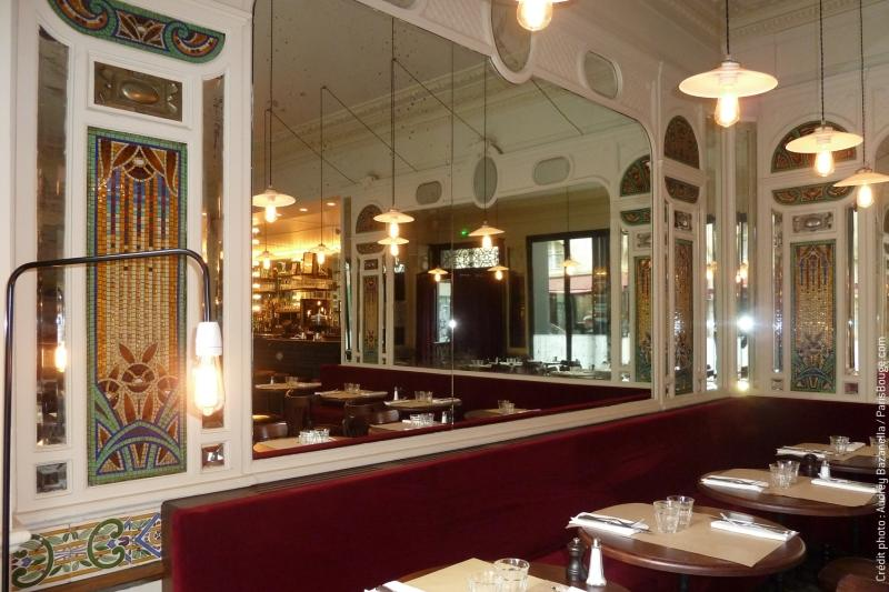 4 resto belle epoque paris restaurant creditphoto audreybazanella parisbouge 1343145051 les. Black Bedroom Furniture Sets. Home Design Ideas