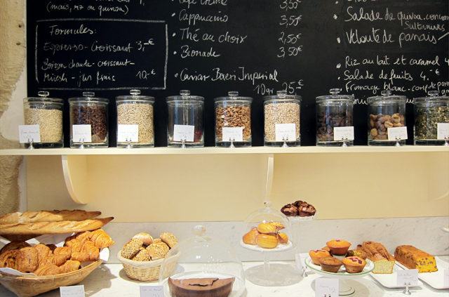 Patisserie, petit déjeuner, snack, Paris