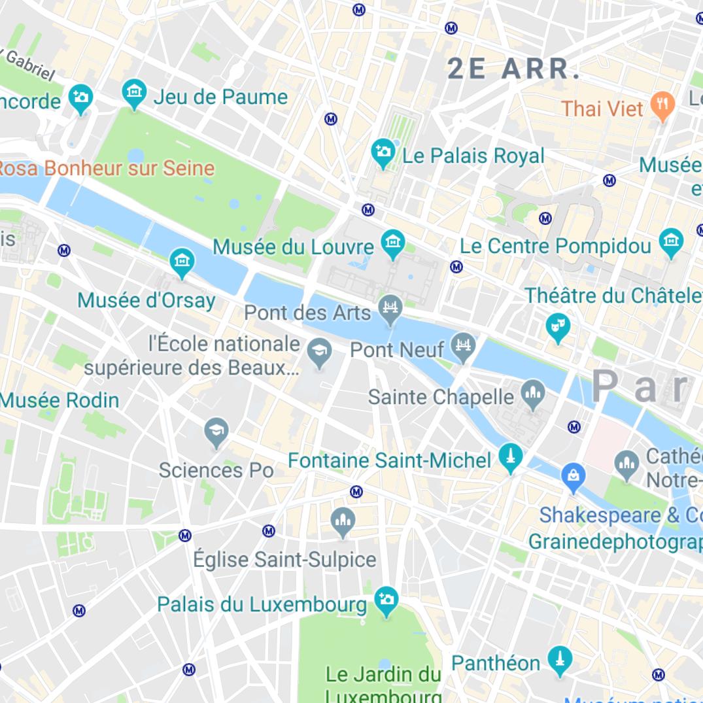 Plan Saint-Germain des Prés