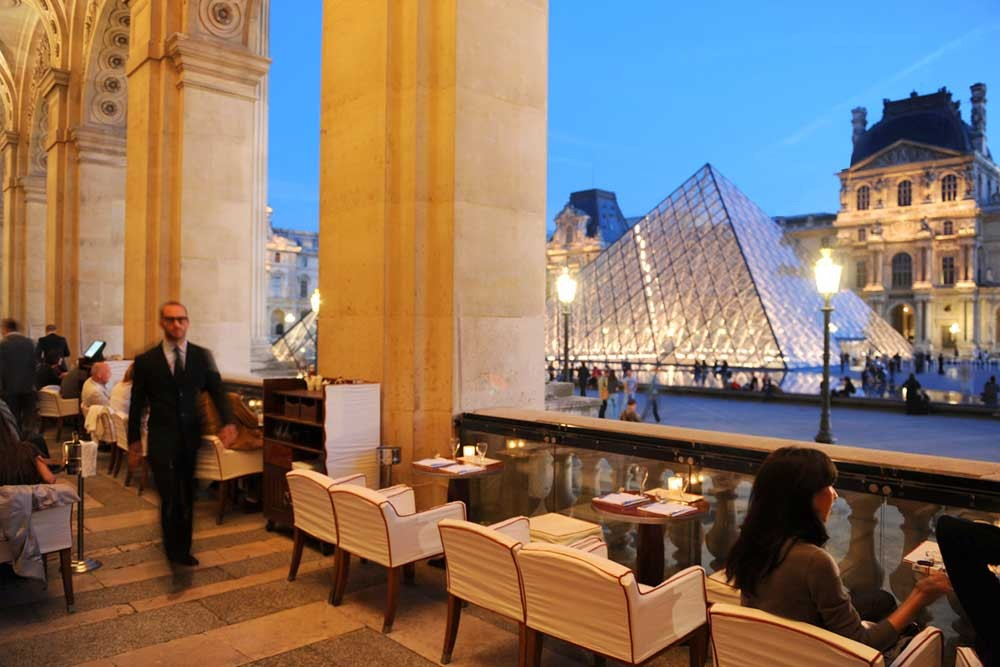Louvre Paris Café Marly Restaurant