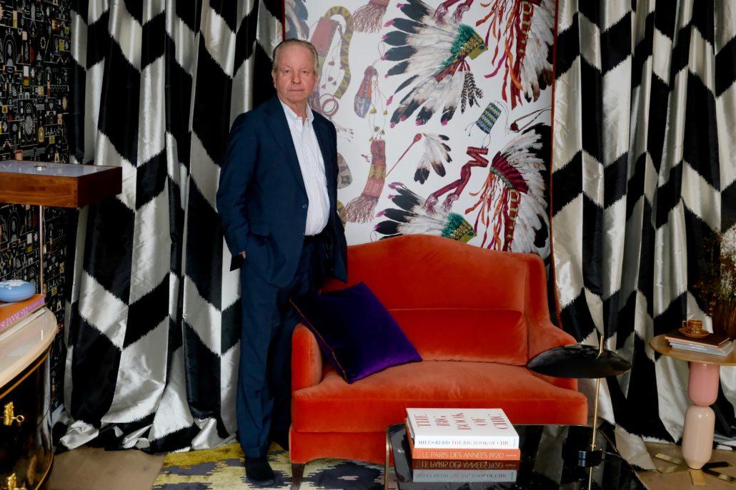 Pierre Frey, décorateur, tissus, Paris