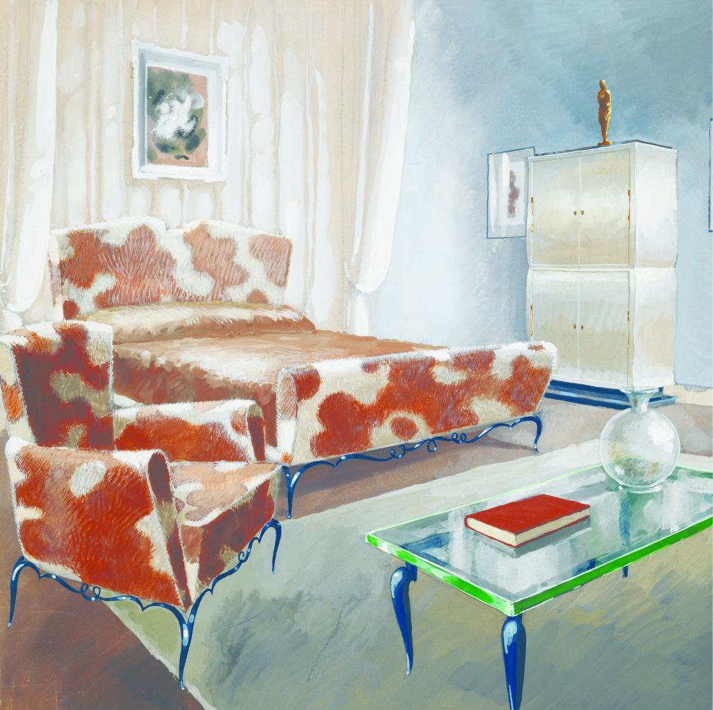René Prou, décorateur, modernisme, mobilier
