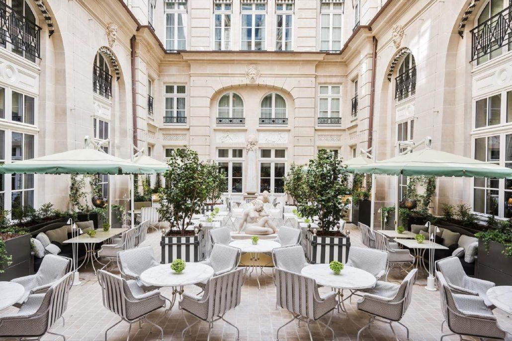 Brasserie, Hôtel de Crillon, Place de la Concorde, Paris